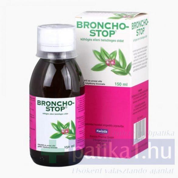 Bronchostop köhögés elleni belsőleges oldat 150 ml