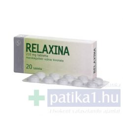 Relaxina 210 mg tabletta 20 db