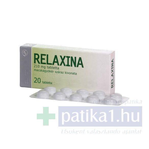Relaxina 210 mg tabletta 20 db