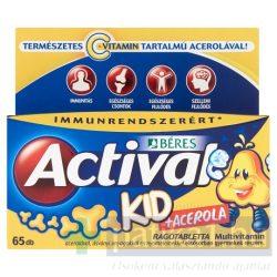 Actival Kid Acerolával rágótabletta 65 db