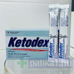 Ketodex 25 mg belsőleges oldat tasakokban adagolva 10x10 ml - felnőtteknek! 10 db
