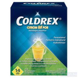 Coldrex citromízű por belsőleges oldathoz 14 db