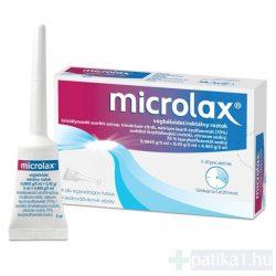 Microlax végbéloldat 4x5ml