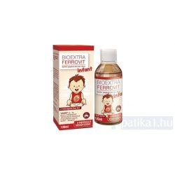 Bioextra Ferrovit Infant spec élelmiszer 120 ml