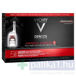 Vichy Dercos Aminexil Clinical 5 - Férfiaknak 21x6 ml