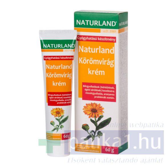 Naturland Körömvirág krém 60 g gyógyhatású