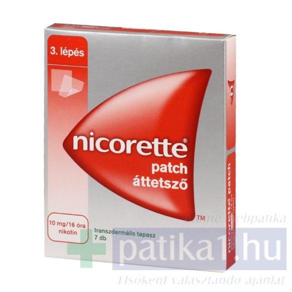 Nicorette Patch 10 mg/16 óra 7 db