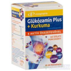 VitaPlus Glükozamin Plus kurkuma filmtabletta étrendkiegészítő tabletta 60x