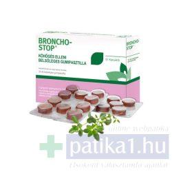 Bronchostop köhögés elleni gumipasztilla 20 db