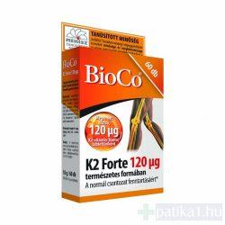 BioCo K2-vitamin Forte 120 mg tabletta 60 db