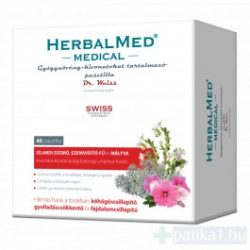 Herbalmed Medical gyógynövény pasztilla 40 db
