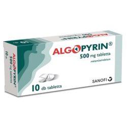 Algopyrin 500 mg tabletta10 db