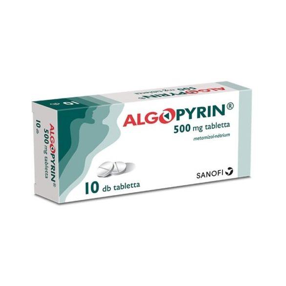 Algopyrin 500 mg tabletta 10 db