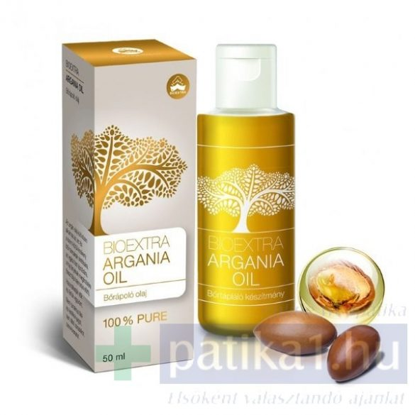 Bioextra Argania Oil 50 ml argán olaj - Bőrápoló olaj