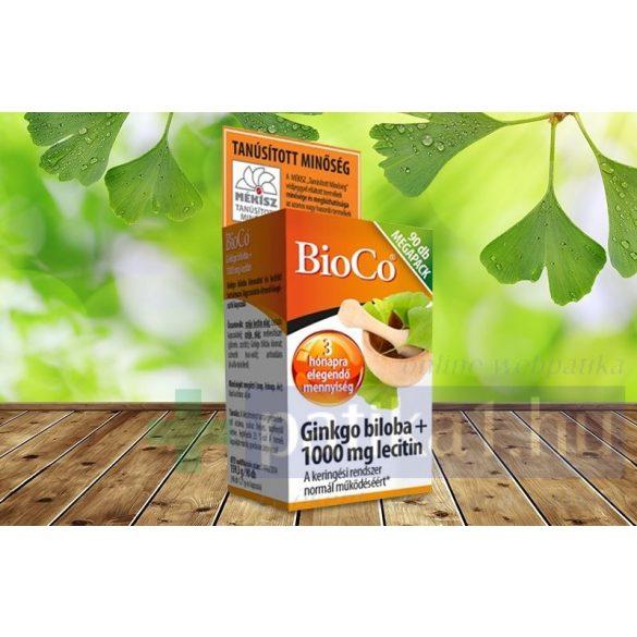 Bioco Ginkgo biloba lecitin kapszula megapack 90 db