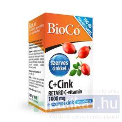 BioCo C + Cink Retard C-vitamin 1000 mg 100 db