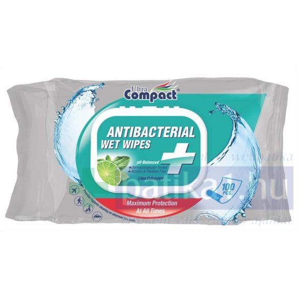 Ultra Compact Antibakteriális nedves törlőkendő 100 db