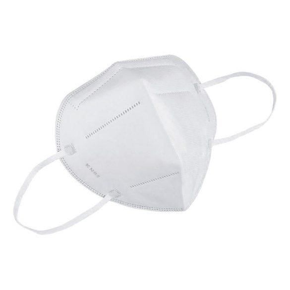 KN95 szájmaszk  fehér 1 db egyenként csomagolt FFP2