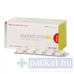 Magnézium B6 bevont tabletta GOODWILL 60 db
