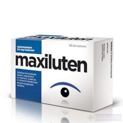 Maxiluten lutein tabletta 30 db