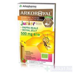 ArkoRoyal Bio 500 mg ivóampulla gyermekeknek alma-eper ízű 10x - közeli lejárat 2021.05.31.