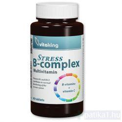 Vitaking Stress B-complex rágótabletta 60x