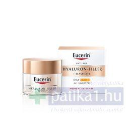 Eucerin Hyaluron-Filler + Elasticity Bőrtömörséget regeneráló nappali arckrém FF30 50 ml