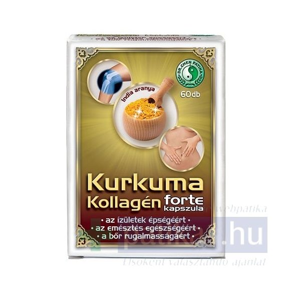 Dr. Chen Kurkuma Kollagén Forte kapszula 60 db