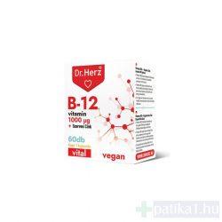 Dr. Herz B12 1000 mcg + szerves cink kapszula 60x