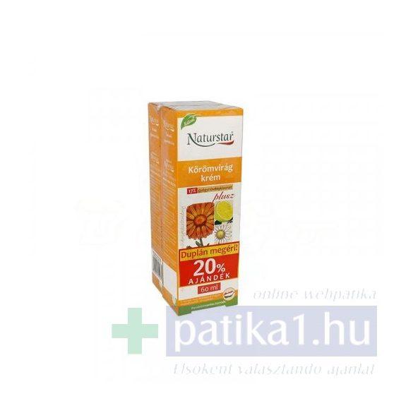 Naturstar körömvirág krém plus DUPLA kiszerelés 2x60 ml