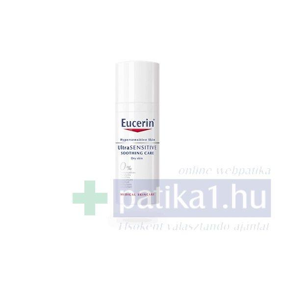 Eucerin UltraSensitive arcápoló száraz bőrre 50 ml