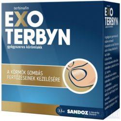 Exoterbyn gyógyszeres körömlakk 3,3 ml