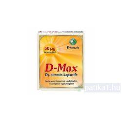 Dr. Chen D-Max D3-vitamin kapszula 80x