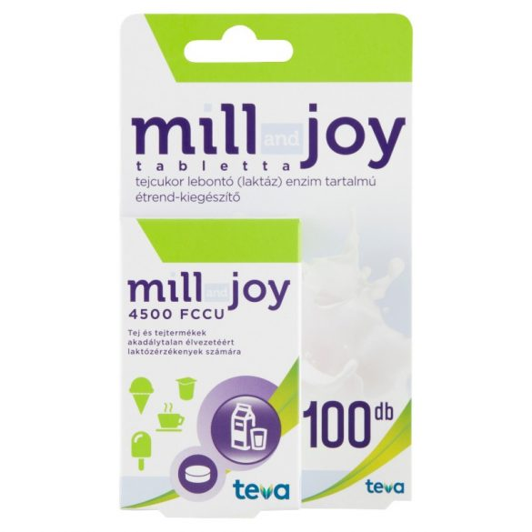 Millandjoy tabletta 100 db laktáz enzim
