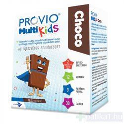 Provio MultiKids Choco étrendkiegészítő tejcsoki 30x Nagy kiszerelés!