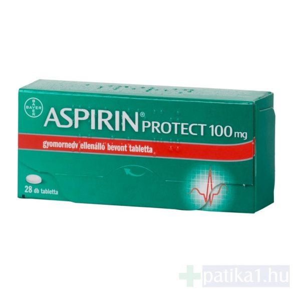 Aspirin Protect 100 mg gyomornedv-ellená. bev. tab. tabl. 28 db