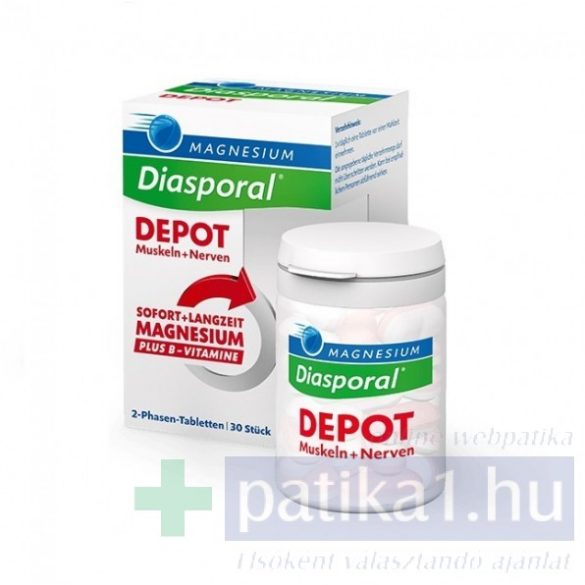 Magnesium Diasporal Depot tabletta 30 db