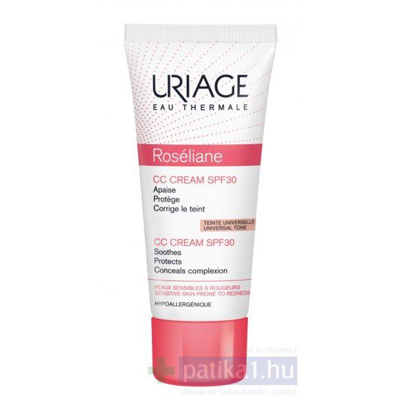 Uriage ROSÉLIANE CC Krém SPF30 kipirosodás/rosacea ellen40 ml
