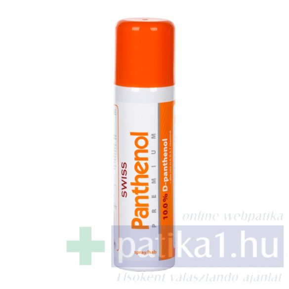 Swiss Premium panthenol 10 habspray 150 ml