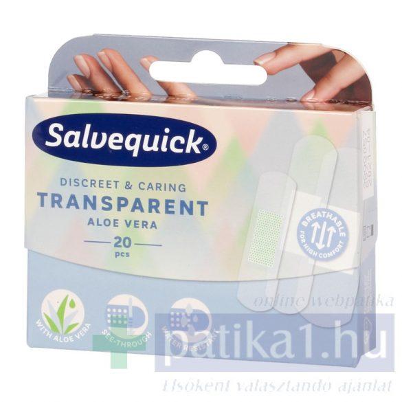 Salvequick sebtapasz átlátszó aloés 20 db