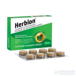 Herbion borostyán 35 mg szopogató tabletta 24 db