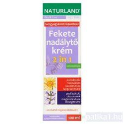Naturland Fekete nadálytő krém 2in1 100 ml