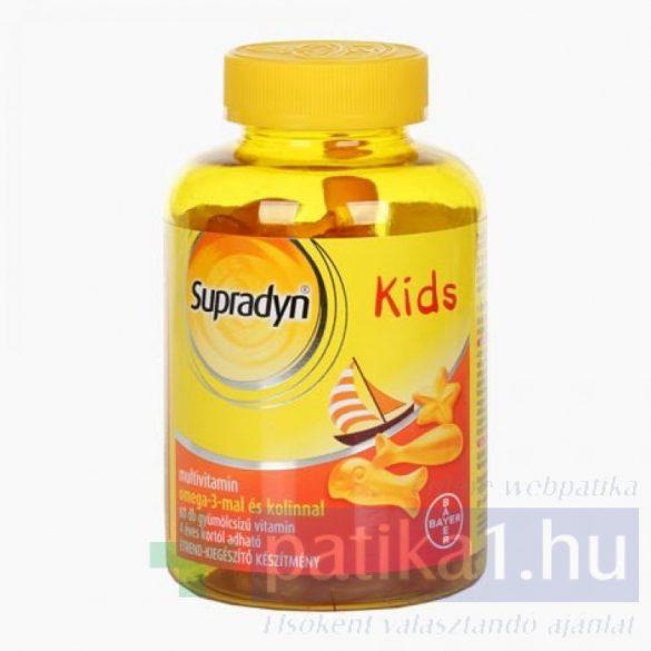 Supradyn Kids Omega-3 multivitamin 60 db gumicukor