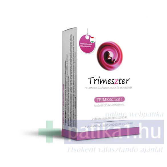 Trimeszter 1 vitamin tabletta várandósoknak 60 db