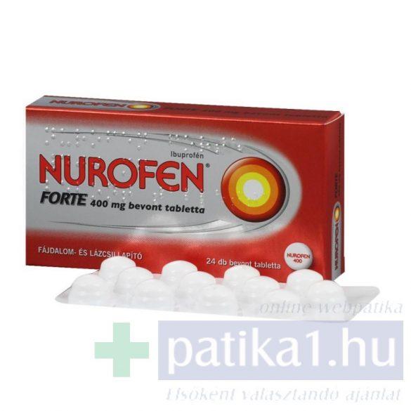 Nurofen Forte 400 mg bevont tabletta 24 db