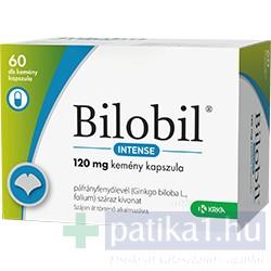 Bilobil Intense 120 mg kemény kapszula 60 db - közeli lejárat 2021.03.31.