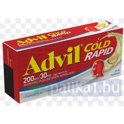 Advil Cold Rapid 200 mg/ 30 mg lágy kapszula 20 db