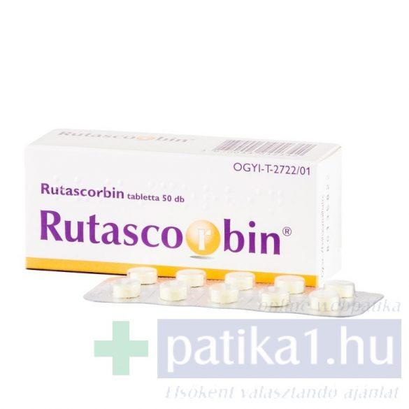 Rutascorbin tabletta 50 db
