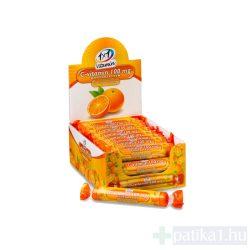 Vitaplus 1x1 Vitaday C-vitamin 100 mg rágótabletta narancs íz 17 db