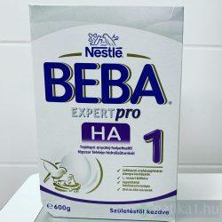 Beba Expertpro HA 1 tejapalú anyatej-helyettesítő tápszer 600g